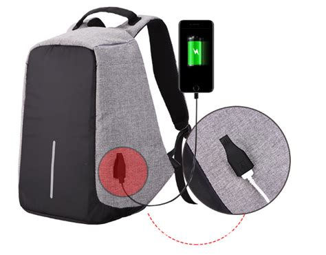 Ransel Anti Maling Dan Anti Air tas anti maling usb port charger tas anti maling10 jual