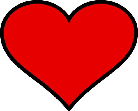 large heart shape clipart best large heart template clipart best