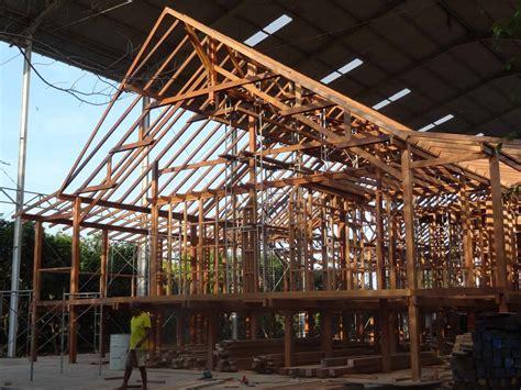 prefab post beam homes houses teak bali
