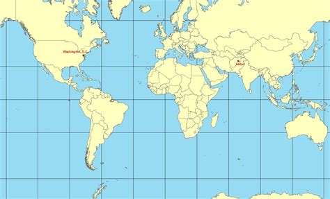 mercator map projection antisdel geography 7 lab 5 map projections