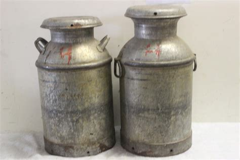 Milk Can Ls by Vintage Milk Can