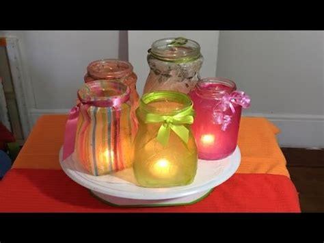 como decorar frascos de vidrio you tube aprenda a decorar frascos con papel frascos de vidrio