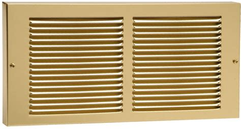 Brass Baseboard Return Grille Brass Vent Covers