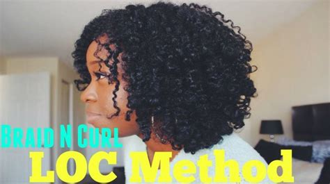 bomb curl 3 tips on how to get a bomb braid and curl using the loc