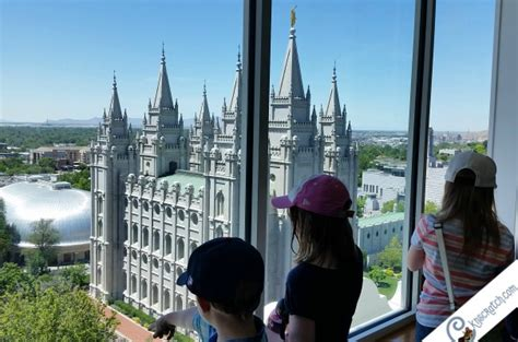 Smith To The Top Memorial by What To See At Temple Square Salt Lake City Utah