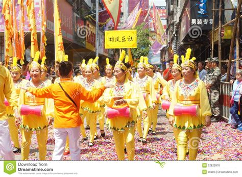new year parade history shenzhen china temple celebration parade editorial photo