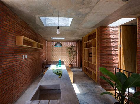 Small Brick House by Tropical Space   InteriorZine