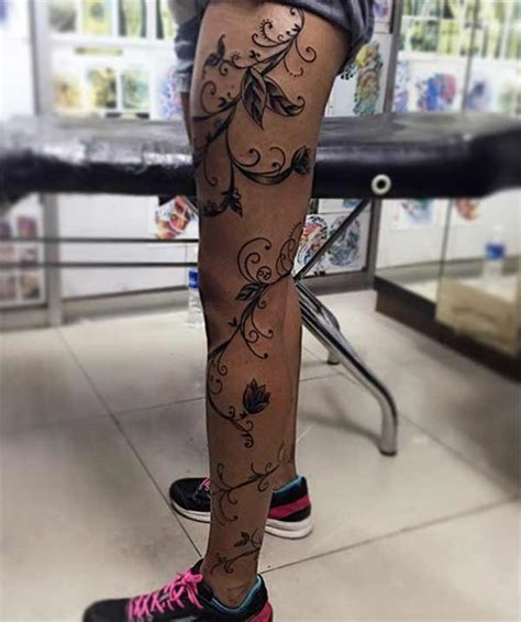 best 24 leg tattoos design idea for men and women
