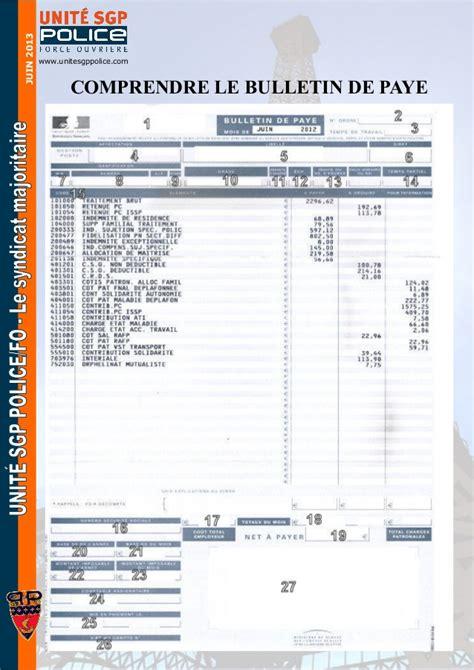 bulletin de paie fonctionnaire territorial 620df650 feuille paye