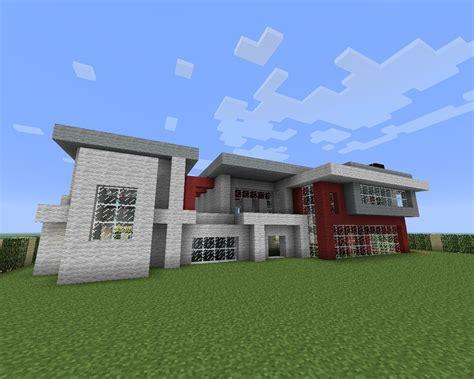modern big house minecraft project