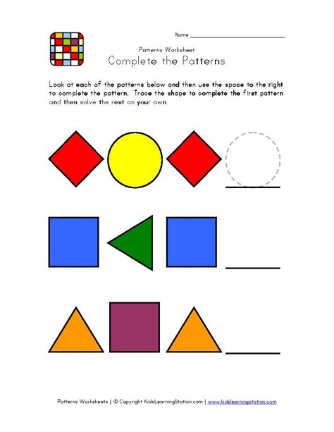 simple pattern recognition exle kid s outdoor math fun ustaxpayerswill