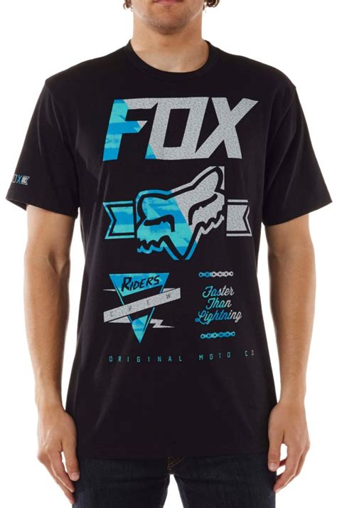 fox motocross shirts fox racing mens crinkle motocross sleeve t shirt ebay