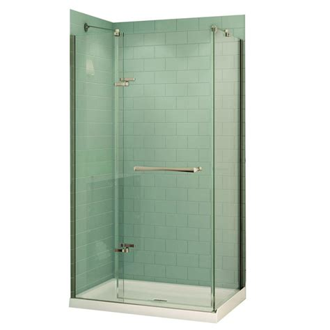 Maax Shower Stalls Installation by Maax Reveal 32 In X 48 In X 74 5 In Corner Shower Stall