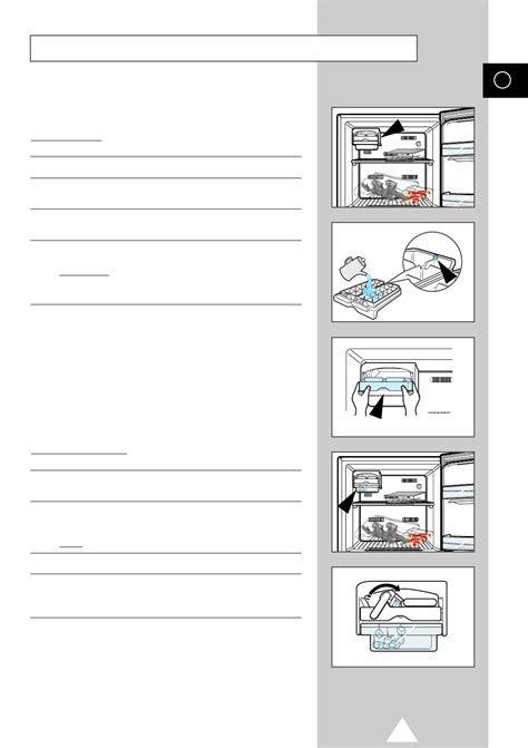 Page 11 of Samsung Refrigerator SR 43NXB User Guide