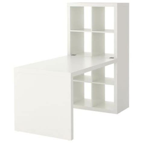 New Ikea Expedit Workstation Computer Desk Bookcase Table Ikea Expedit Bookcase White
