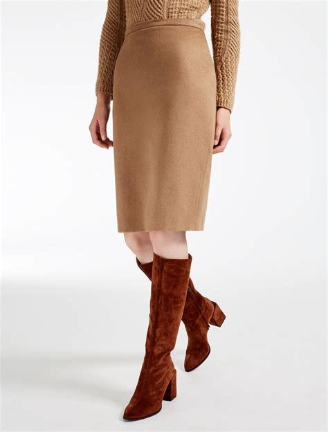 Camel Winter Skirt Y823 max mara fall winter 2017 2018