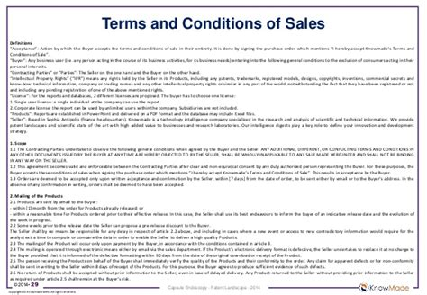free business terms and conditions template capsule endoscopy patent landscape 2014 sle