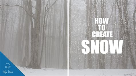 tutorial photoshop winter photoshop tutorial how to create realistic falling snow