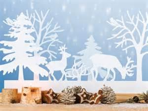 Word Vorlage Winter Vorlage Fensterbild Winterlandschaft Basteln Winterlandschaft Fensterbilder Und