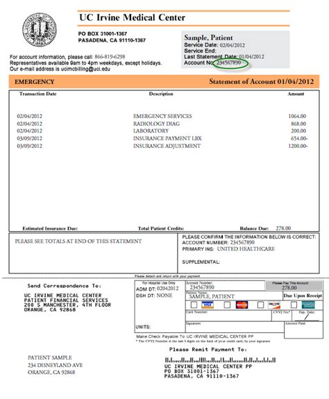hospital invoice template hardhost info