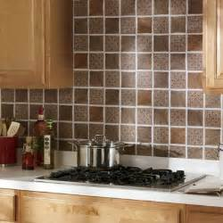 self stick solid backsplash tiles from montgomery ward kitchen backsplash project kits from backsplashideas com