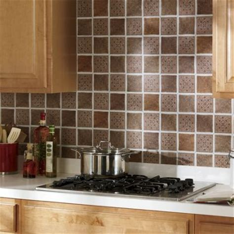 stick on backsplash tiles self stick solid backsplash tiles from montgomery ward