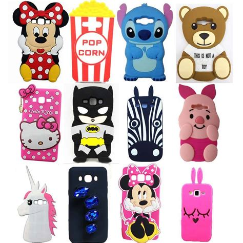 Samsung J2 Prime Stitch 3d Karakter Silicone Casing Cover new 3d animal soft silicone for samsung