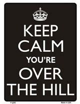 printable over the hill road signs 1000 images about over the hill on pinterest over the