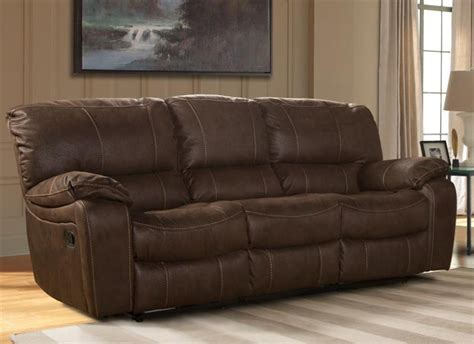 parker house sofa jupiter dual reclining sofa in dark kahlua synthetic