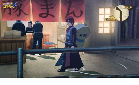 naruto shippuden ultimate ninja storm   screenshots showcase gaaras dlc scenario