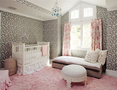 pink and grey rug for nursery pink and gray nursery ideas transitional nursery smith home