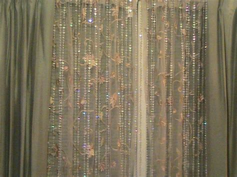 crystal drapes diamond crystal iridescent beaded curtain faceted 6