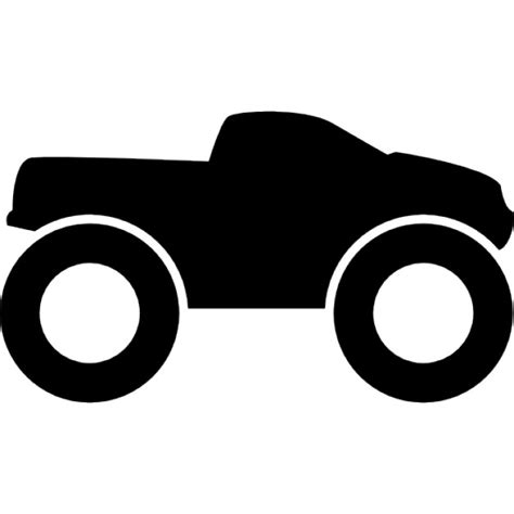 icon 4x4 truck small truck with big wheels 4x4 icons free download