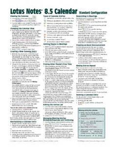 Lotus Notes 8 5 User Guide Math Depot Math Books Lotus Notes 8 5 Calendar