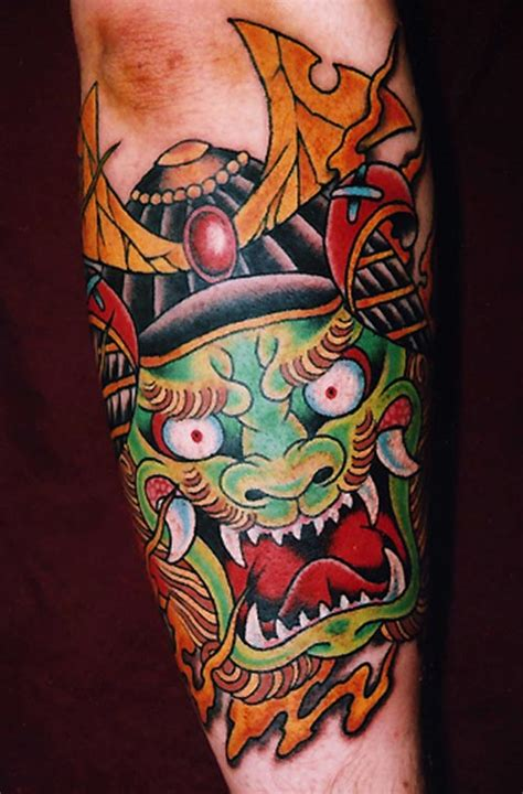 japanese tattoo head japanese tattoos pictures