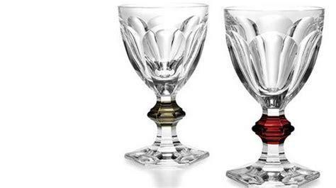 bicchieri cristallo baccarat la linea baccarat gioielli in cristallo molu il