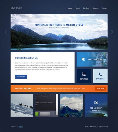 Fresh Free Psd Website Templates Freebies Graphic Photoshop Website Templates