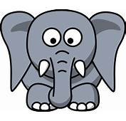 Simple Cartoon Elephant