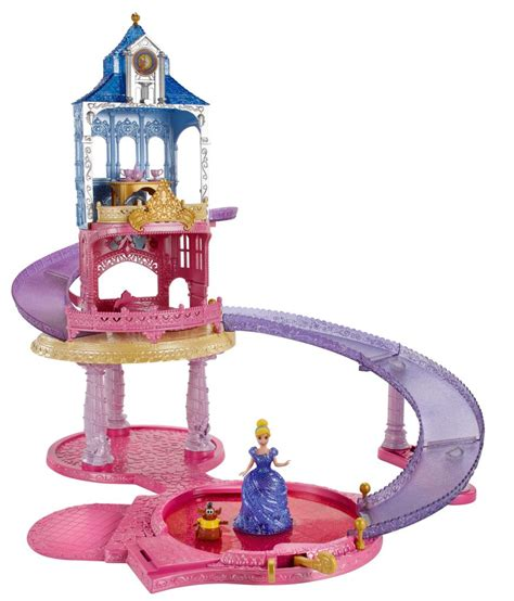 Cinderella Vanity Amazon Com Disney Princess Glitter Glider Castle Playset