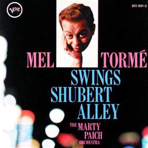 mel torme swings shubert alley londonjazz review mel torme marty paich by the frank