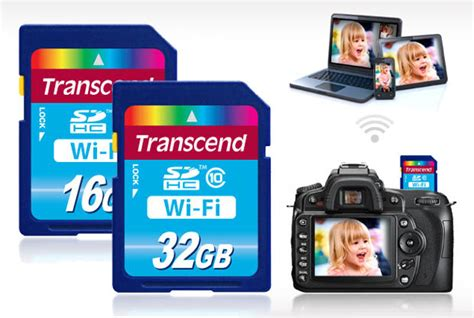 memory card with wifi transcend crashes the wireless memory card launches