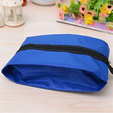 Tas Sepatu Travel Ventilation Waterproof tas sepatu travel waterproof blue jakartanotebook