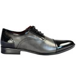 mens gray dress shoes mens black grey new 2tone lace up wedding formal