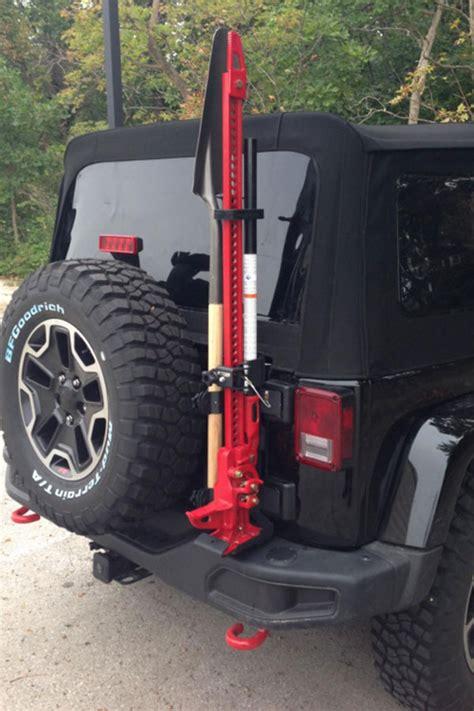 maximus  jk rubicon xath tire carrier shovel mount