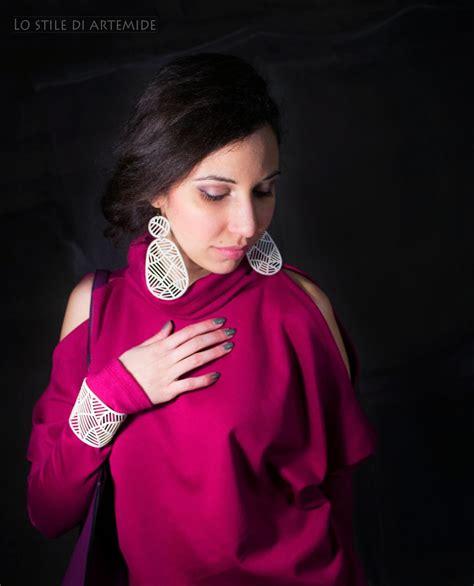 Bag Zara Premium Sag4109 magenta power lo stile di artemide