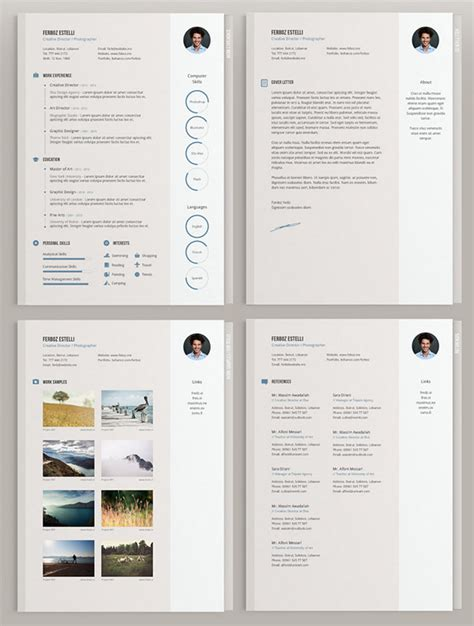 free minimal templates 20 free editable cv resume templates for ps ai