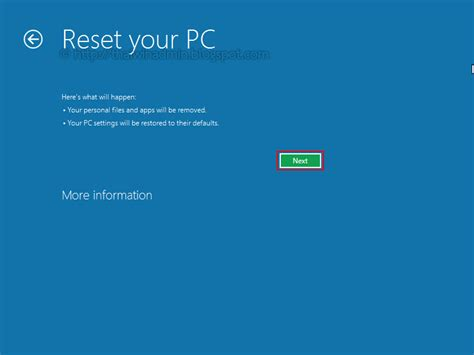 Hp Resetting Your Pc 1 | how to reset windows 8 pc windows administrator blog
