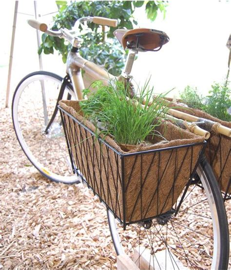 Garden Decoration Bicycle by Give Your Bike A Second Chance And Turn It Into A
