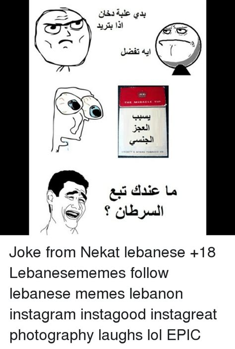 Lebanese Memes - the miracle tip joke from nekat lebanese 18 lebanesememes