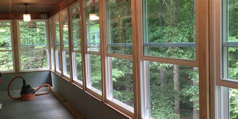 sunroom window replacement energy efficient windows double hung window sunroom